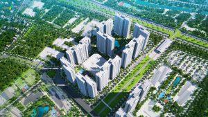 Phối cảnh đô thị thông minh của Vingroup